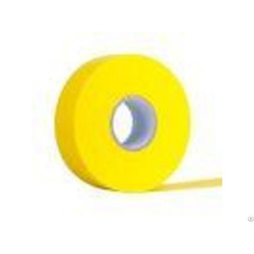 Лента за кола маска, руло с перфорация на 22 см - жълта